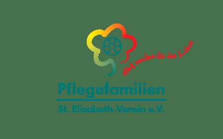 Logo Pflegefamilien Hessen, St. Elisabeth-Verein